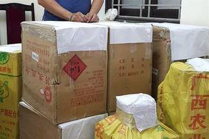 Chở 216 kg pháo lậu về Nghệ An tiêu thụ