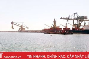 Phấn đấu năm 2019 đưa các cầu cảng Vũng Áng mới đi vào hoạt động