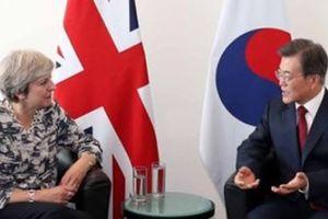 Hàn Quốc đề nghị Anh ủng hộ nỗ lực phi hạt nhân hóa bán đảo Triều Tiên