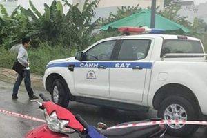 Tài xế GrabBike nghi bị cướp sát hại trong khu dân cư ở TP.HCM