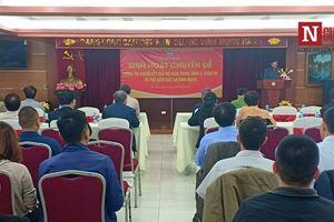 Hội Luật gia Việt Nam thông tin nhanh kết quả hội nghị Trung ương 8, khóa XII và phổ biến Luật An ninh mạng