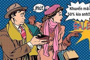 Tối cười: Lý luận của cô vợ mê shopping