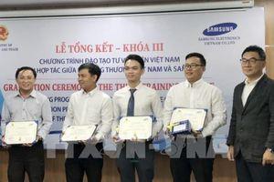 Chương trình hợp tác đào tạo tư vấn viên Việt Nam giữa Bộ Công Thương và Samsung