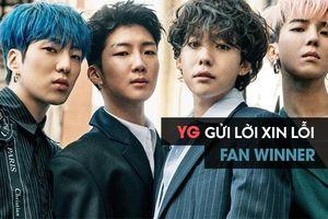 Sau tất cả, cuối cùng YG cũng phải gửi lời xin lỗi đến fan của Winner vì sự cố chiếu nhầm VCR!