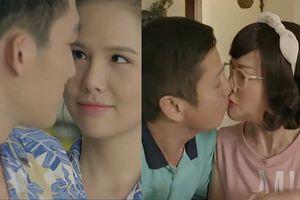 'Yêu thì ghét thôi' tập 14: Du - Kim làm hòa, ông Quang - bà Diễm hài hước hôn nhau đắm đuối