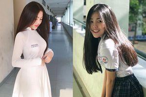 Ngoài cô nàng Triệu Vy đang gây bão mạng, THPT Bình Hưng Hòa TP.HCM còn có cả tá nữ sinh xinh đẹp