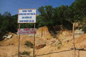 Bình Định: Vì sao không giải quyết dứt điểm được việc các doanh nghiệp khai thác đá trái phép tại phía Đông núi Hòn Chà