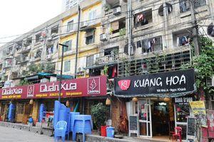 Hà Nội đề xuất cơ chế tháo nút thắt trong cải tạo chung cư cũ