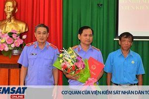 Bổ nhiệm lại Phó Viện trưởng VKSND tỉnh Tây Ninh