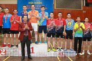 Báo CAND giành 3 Huy chương vàng tại Hội khỏe Hội Nhà báo Hà Nội