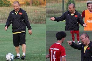 Hai sắc thái của thầy Park khi huấn luyện các cầu thủ ĐT Việt Nam
