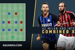 Đội hình kết hợp 'chất lừ' giữa AC Milan và Inter Milan