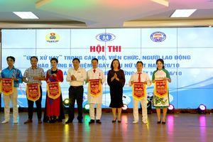 Hội thi 'Ứng xử hay' trong cán bộ viên chức, người lao động BV đa khoa tỉnh Phú Thọ