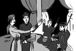 20/10 kể chuyện bà tổ hát chèo và bài trống trận lưu truyền sử sách