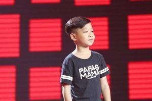 Đến cổ vũ bạn, cậu bé 11 tuổi được chọn ở Giọng hát Việt nhí