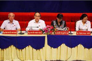 TP Hồ Chí Minh: Bí thư Thành ủy Nguyễn Thiện Nhân tiếp xúc cử tri quận 2