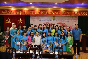Công đoàn Cơ quan LĐLĐ tỉnh Hòa Bình tổ chức thi tìm hiểu pháp luật