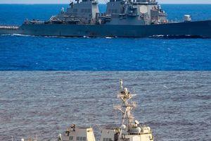 Cho tàu chiến qua eo biển Đài Loan, Mỹ chọc giận Trung Quốc tới đâu?
