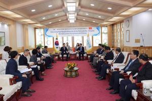 Đoàn công tác tỉnh Bà Rịa - Vũng Tàu làm việc tại Pohang, Hàn Quốc