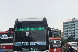Bến xe Mỹ Đình (Q.Nam Từ Liêm): Nhà xe Thắng Huyền bị tố nhồi nhét hành khách