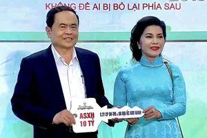 Quỹ từ thiện Kim Oanh trao tặng 10 tỉ đồng xây nhà cho người nghèo