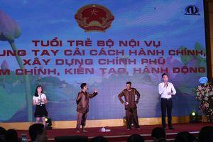 Hội thi Thanh niên với cải cách hành chính và văn hóa công sở