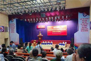 Bí thư Thành ủy TPHCM tiếp xúc cử tri Thủ Thiêm