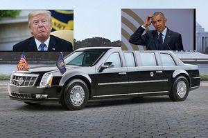 Siêu xe mới toanh của ông Trump khác gì với chiếc 'Quái thú' của ông Obama?