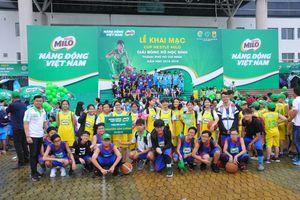 Sôi nổi khởi tranh Giải Bóng rổ học sinh TPHCM năm học 2018 – 2019 Cúp Nestlé Milo