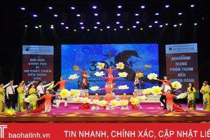 Khai mạc Hội diễn Nghệ thuật quần chúng Agribank Bắc miền Trung tại Hà Tĩnh