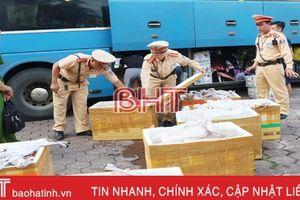 900kg thịt mèo 'leo' xe khách từ Nam ra Bắc, bị bắt ở Hà Tĩnh