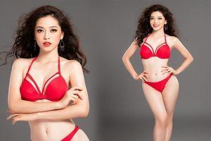 Phương Nga khoe dáng nóng bỏng trước giờ trình diễn bikini tại Miss Grand International 2018