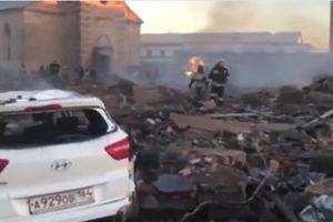 Xảy ra nổ lớn tại một nhà máy sản xuất pháo hoa ở Nga