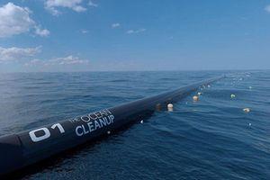 Hệ thống gom rác biển dọn dẹp Thái Bình Dương
