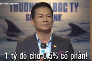Shark Tank Việt Nam: Shark Hưng giả thí sinh kêu gọi 1 tỷ USD cho dự án 'khởi nghiệp'