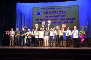 Liên hoan nghệ thuật sân khấu chuyên nghiệp Tuồng, Bài chòi và Dân ca kịch toàn quốc 2018 tại Quảng Ngãi