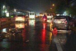 Tai nạn liên hoàn, nam công nhân tử vong tại chỗ