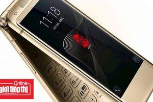 Samsung W2019, điện thoại nắp gập mới của Samsung xuất hiện trong hình ảnh mới nhất