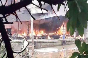 Bến Tre làm rõ vụ tàu chở dầu bị hỏa hoạn làm 1 người tử vong