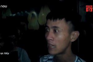 Clip: Nhân chứng kể lại lúc phát hiện thi thể bé sơ sinh ở sân chung cư Linh Đàm