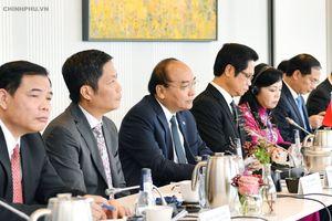 Thủ tướng đối thoại với các doanh nghiệp hàng đầu Đan Mạch