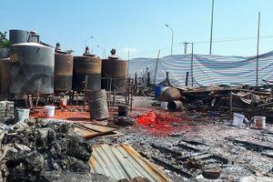 Cháy xưởng sản xuất nến và cồn khô đã lộ nhiều sai phạm