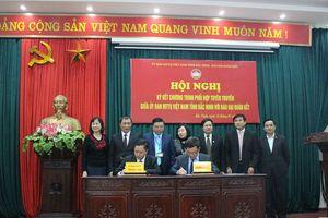 BẢN TIN MẶT TRẬN: MTTQ tỉnh Bắc Ninh phối hợp với báo Đại Đoàn Kết tuyên truyền về Đại hội