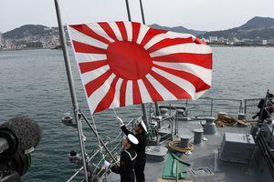 Nhật - Hàn tiếp tục bất đồng về lá cờ 'Mặt trời mọc'