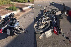 Xe máy đấu đầu, 2 người tử vong