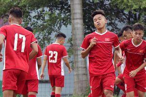 U19 Việt Nam hủy tập trước trận sống còn với Australia