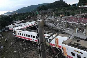 Tai nạn đường sắt ở Đài Loan, gần 150 người thương vong