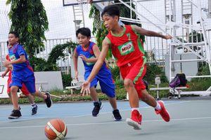 Khởi tranh Giải bóng rổ học sinh TP. HCM năm học 2018 – 2019