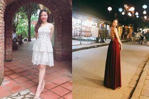 Cô gái thay toàn bộ quần áo bằng váy ôm để quyết giảm cân