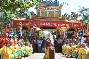 Lễ hội Văn hóa du lịch dinh Thầy - Thím góp phần phát triển du lịch Bình Thuận